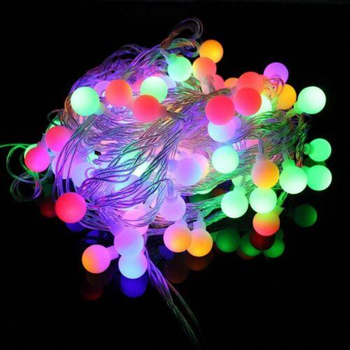 20M 200 LED LED Lichterkette Schlauch Weihnachtsbaum Deko Innen//Außen Xmas Party
