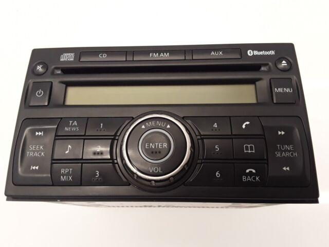 Nissan Qashqai 2008 Diesel Radio Lecteur CD Tête Unité 28185-JD05A 110kW VEI821