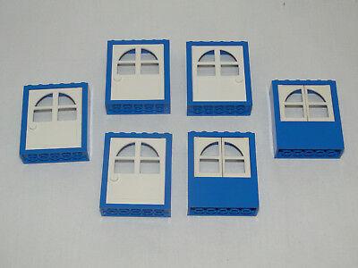 Lego Fabuland 2x Auto Tür rechts links x613 x614 gelb fabu140