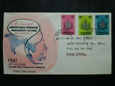 Malaysia 1961 Federation Of Malaya Colombo Plan Conference FDC No Brochure