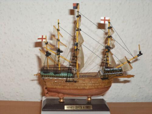 COLLEZIONE COLLECTION nave modello Henry Grace a Dieu in plastica e legno #18