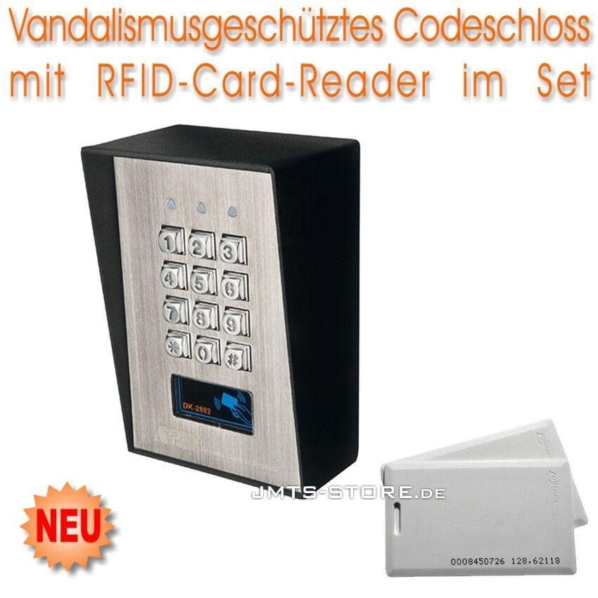 Vandalismusgeschütztes Profi RFID Codeschloss Code-Schloss Haus Schloss Tür Set | Online Shop Europe  | Sale Outlet  | Hohe Sicherheit  | Die Königin Der Qualität