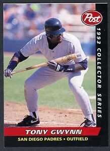 Tony Gwynnsan Diego Padres1993 Post Cereal Sharp Oddball