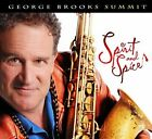 Summit: Spirit and Spice [Digipak] * by George Brooks (CD, 2010, Earth Brother Music)