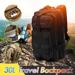 30L-Sac-a-Dos-Militaire-Armee-Tactique-Backpack-Voyage-Alpinisme-Camping-Outdoor