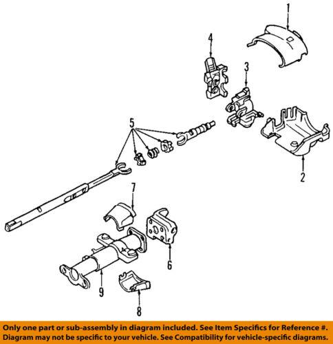 GM OEM Steering Column-Ignition Lock Housing 88965342
