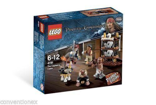 Lego POTC 4191 The Captains Cabin nuovo  Sealed  più sconto