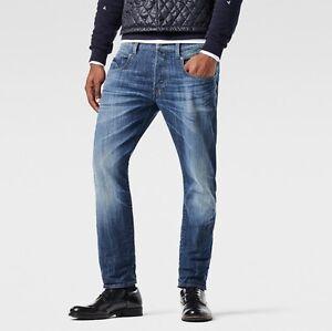 Détails sur G star raw homme radar tapered jeans 28