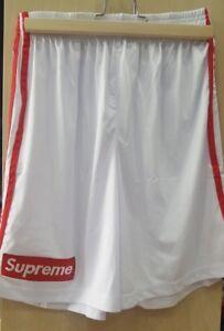 l'atteggiamento migliore fb7ea e967e Dettagli su Pantaloncini short shorts pantaloni corti logo supreme