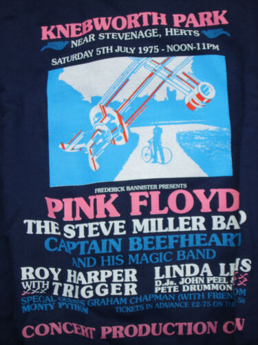 Knebworth Zip 1975 Up Jacket Crew Hooded Floyd Pink 57agzz