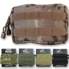 SMALL WEBBING UTILITY POUCH MOLLE HOLDER ZIPPED MULTICAM BRITISH ARMY CADET