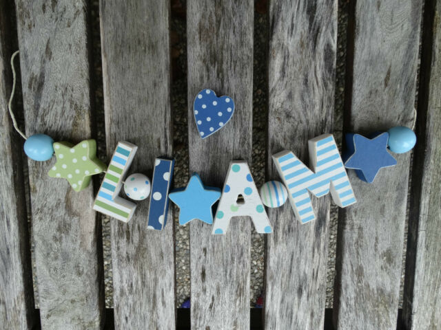 Shabby Chic Holz sweet letters collection on ebay!