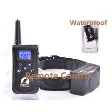 Electric Trainer 500 Yard Waterproof Remote Pet Safe Dog Shock Training Collar