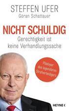R*11.10.2016 Nicht schuldig von Steffen Ufer und Göran Schattauer (Gebunden)