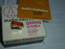 Audio Technica at20sla at 20 SLA sistema con nakel fonocaptor Cartridge