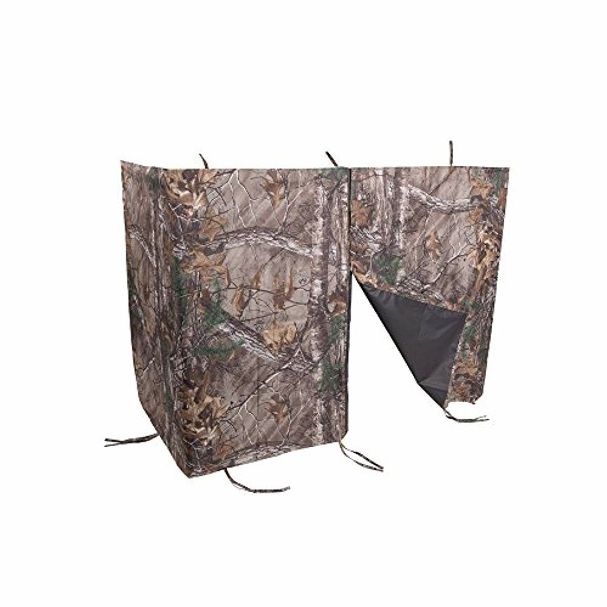 Magnetic Treestand Cover Realtree Hunting Camo Sporting Goods Quiet Entry Exit
