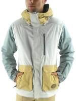 O'neill Ski Jacket Snowboard Jacket Vest Mutant Beige 10k Thinsulate
