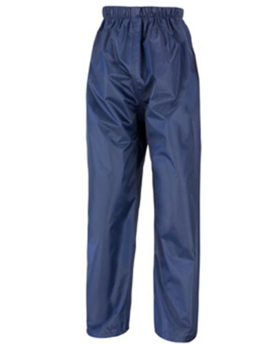Result Core R226J Junior rain Trouser Blank Plain