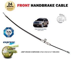 Brake Cable Handbrake Front for JEEP GRAND CHEROKEE 4.0 99-05 ERH WG WJ FL