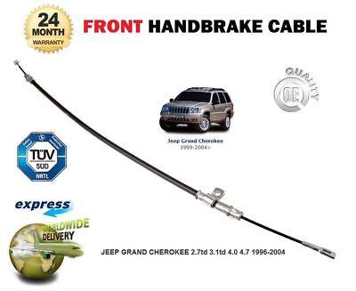 Pour jeep grand cherokee 2.7td 3.1td 4.0 4.7 1996-2004 avant frein à main câble