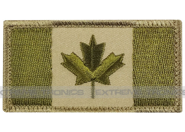 MilSpec Canadian Flag EH Ally Arid Canada Military Combat Army Morale Patch