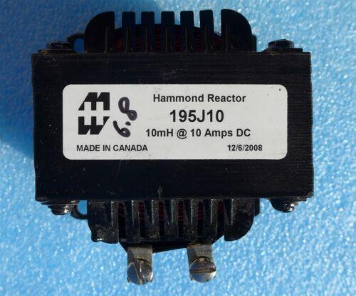 Hammond 195J10 Fixed Inductor Choke