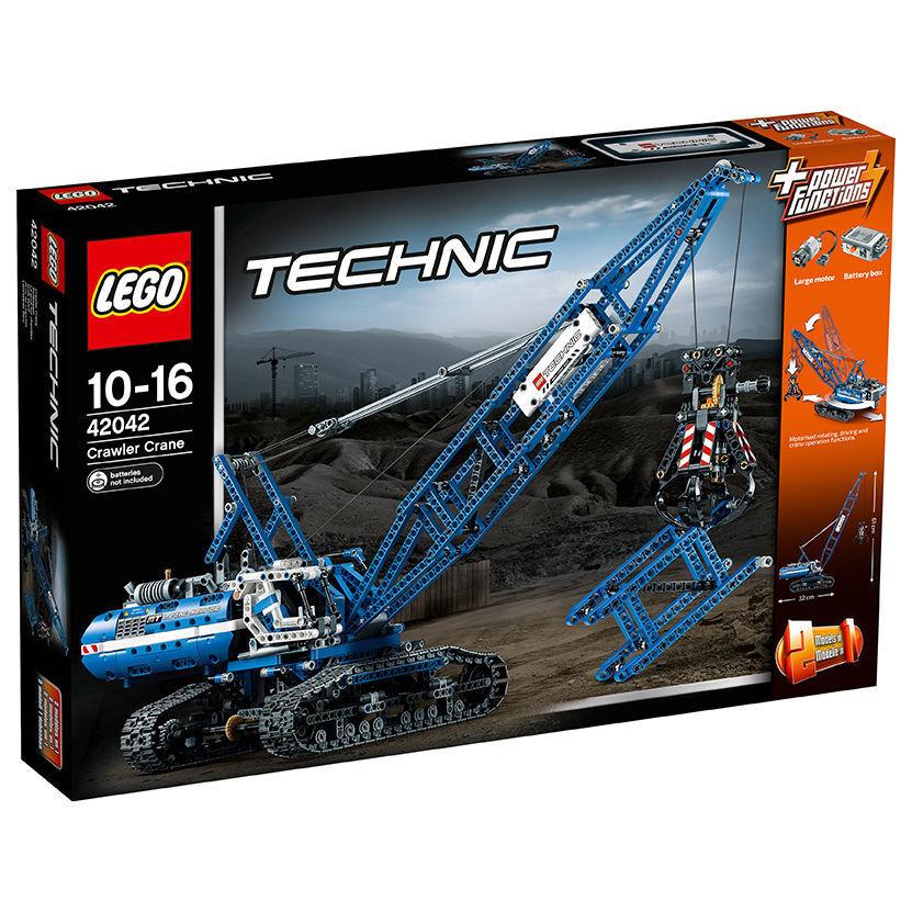 LEGO Technic Seilbagger Crawler Crane (42042) NEU und OVP