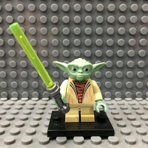 Yoda Custom Minifigure Star Wars RBC Custom Star Wars Minifigures