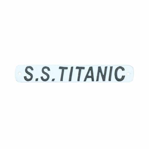 SS Titanic fonte signe plaque porte mur maison bateau de croisière bateau DECO
