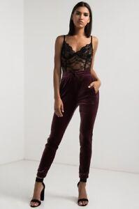 194b7170aea RARE Adidas Original Velvet Vibes Cuffed Track Pants Velour 3 Stripe ...