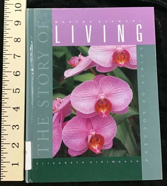 Story Of Martha Stewart Living Elizabeth Sirimarco 2000 Smart Apple Media HC
