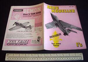 Vintage Aeromodeller Mag (May 1959) Taplin Twin Engine Analysis + Amazing Ads