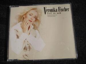 Maxi-CD-Veronika-Fischer-Viel-zu-nah-3-Tracks-Topzustand