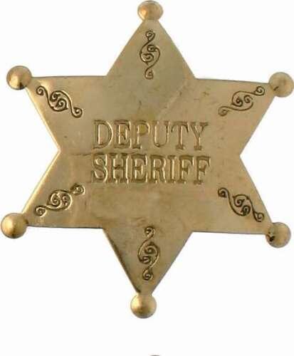 Deputy Shérif Étoile Us Étoile de Shérif Western Cowboy USA Maréchal États-unis