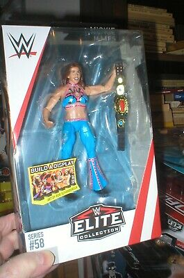 Mickie James WWE Mattel Elite Series 58 Brand New Action Figure Mint Packaging