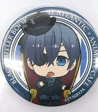 Black Butler Book of the Atlantic Badge Ciel Animate Cafe Limited Anime F/S