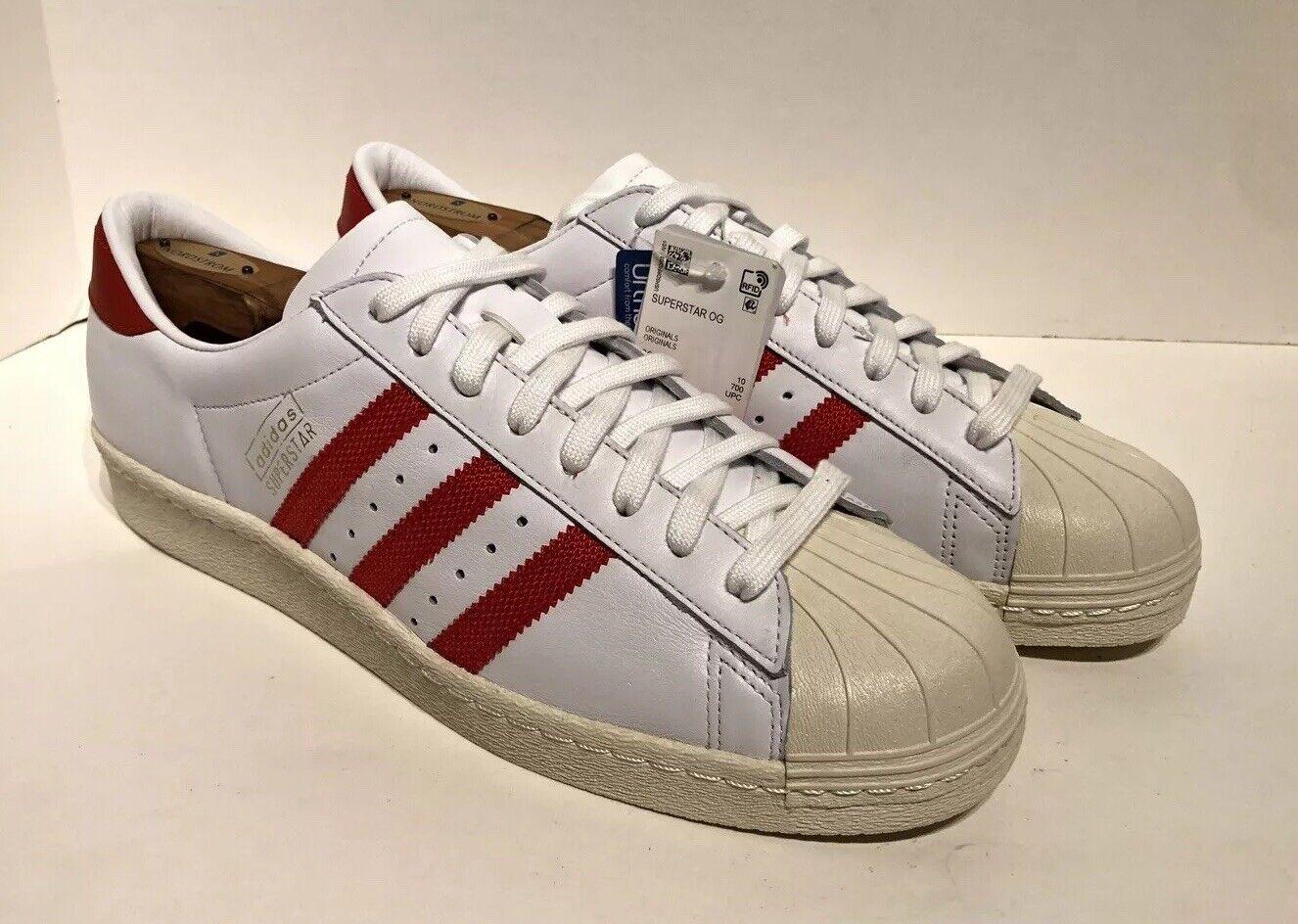 Very Rare Adidas Originals Superstar 80s Vintage Og Shell Toe