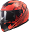 LS2-FF320-STREAM-LUX-KUB-LAVA-AXIS-FULL-FACE-ACU-GOLD-MOTORCYCLE-SCOOTER-HELMET miniature 6