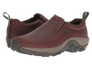 merrell jungle moc leather brown mens
