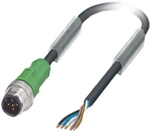 Phoenix CONTACT M12 1.5m Maschio Cavo Sensore//attuatore per l/'utilizzo con sensori e di agire