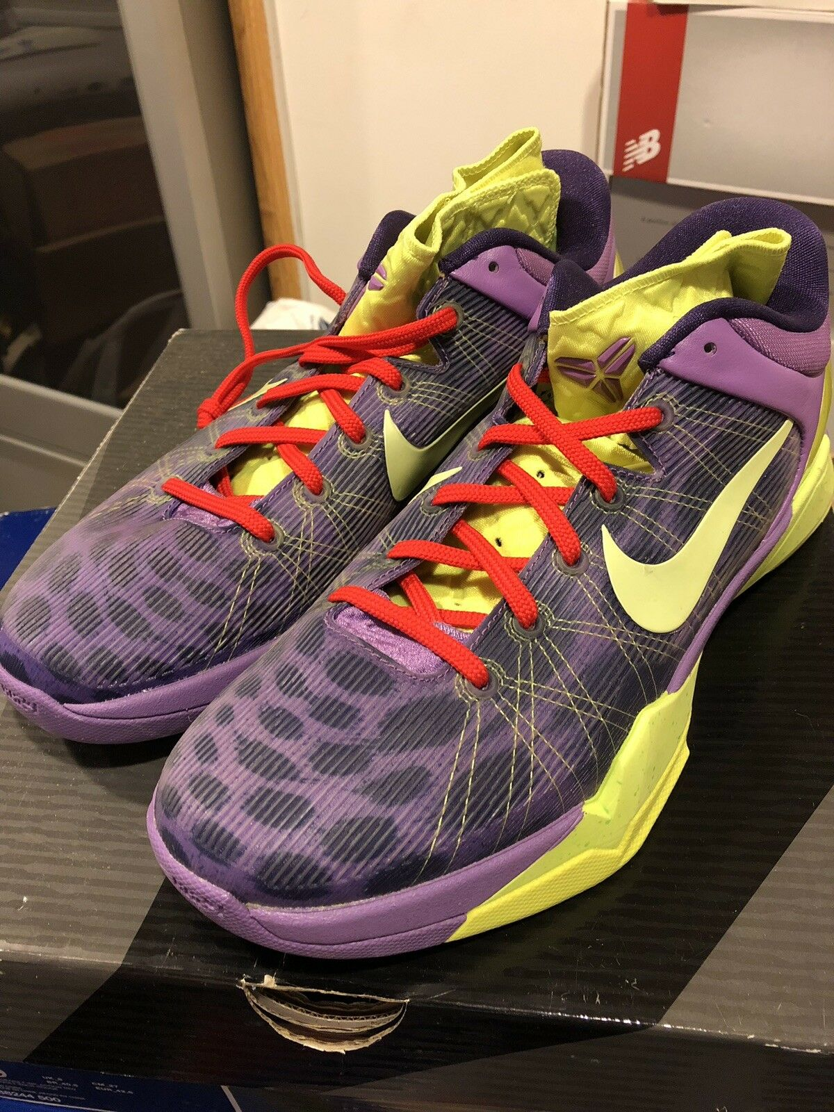 8cac7ad262d9 Nike Kobe Kobe Kobe 7 Vii Cheetah 6 Vi Grinch SB Supreme Galaxy Giuseppe  Yeezy Jordan