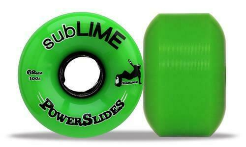 4x ABEC  11 Wheels Sublime Powerslides 100a Green Longboard Free Post  wholesale store