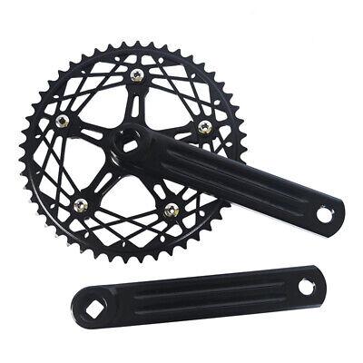 Aluminum Fixed Gear Single Speed Chainring 130BCD Black 48T Road Track Bike