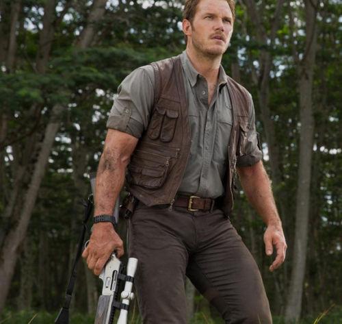 Jurassic World Chris Pratt Owen Grady Leather Vest - 100% Money Back Guarantee