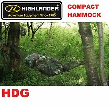 HIGHLANDER HAMMOCK GEAR STORE.STRETCHER BUSHCRAFT ARMY BASHA BIVI + STUFF SACK
