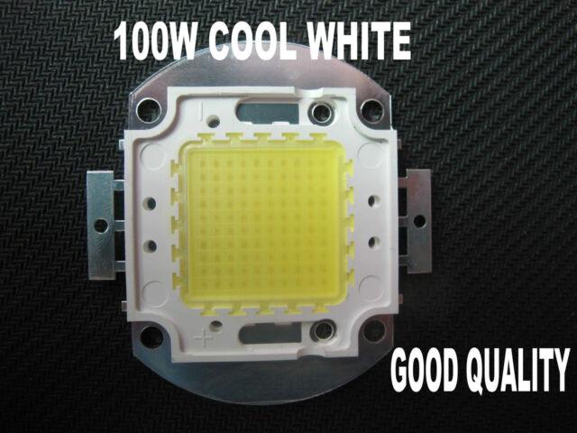 NEW 100W Cool WHITE LED Lamp 6000-6500K Bright Light High Power good quality