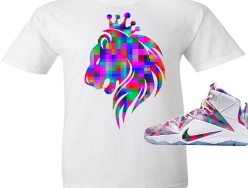 EXCLUSIVE TEE SHIRT to match the NIKE LEBRON XII 12 FINISH YOUR BREAKFAST