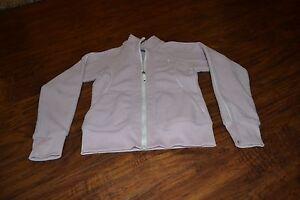 E2-Puma-Light-Pink-Long-Sleeve-Full-Zip-Jacket-Size-Girls-L