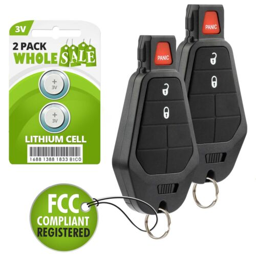 IYZ-C01C 2 Remote For 2011 2012 2013 2014 2015 2016 Dodge Grand Caravan