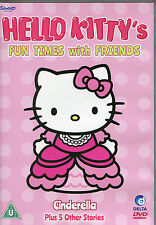 HELLO KITTY'S FUN TIME WITH FRIENDS DVD  - CINDERELLA PLUS 5 OTHER STORIES  (KID